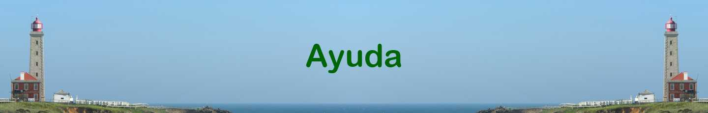 Ayuda name overlayed on picture of Lighthouse