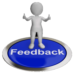 Graphic of Feedback button