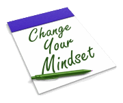 "Noepad with ""Change your mindset"""